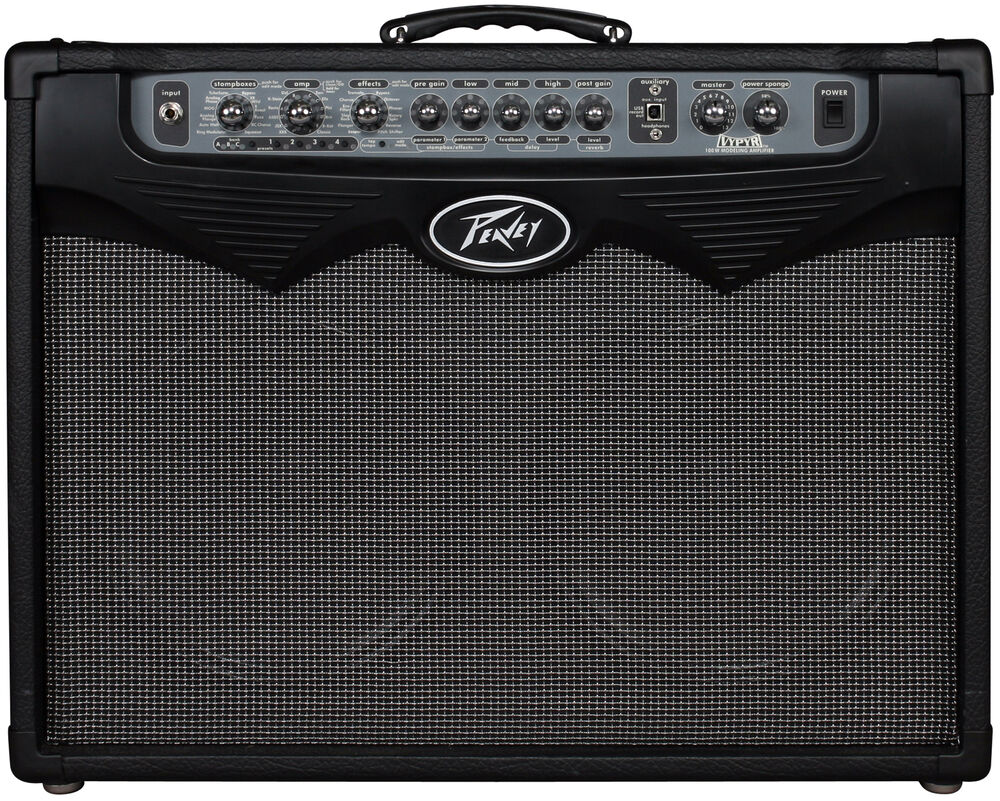 peavey vypyr 100 electric guitar 100w amplifier combo dual 12 modeling 4ch amp ebay. Black Bedroom Furniture Sets. Home Design Ideas