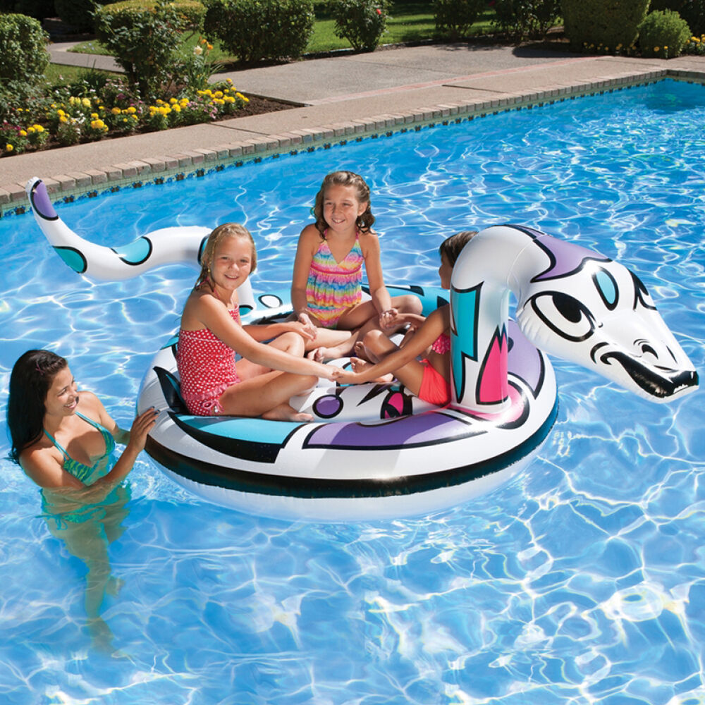 Poolmaster 60 Quot Snake Island 83674 Swimming Pool Inflatable