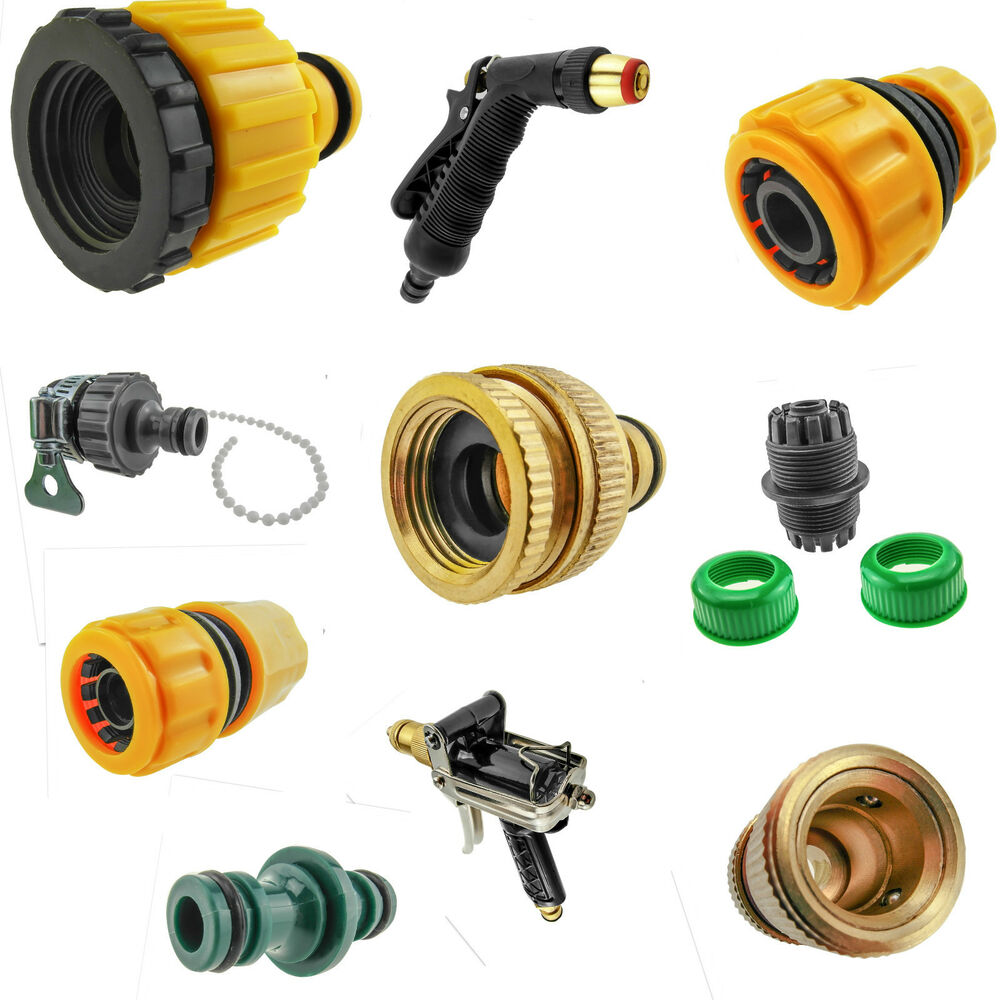 Universal garden car water hose pipe fitting adaptor