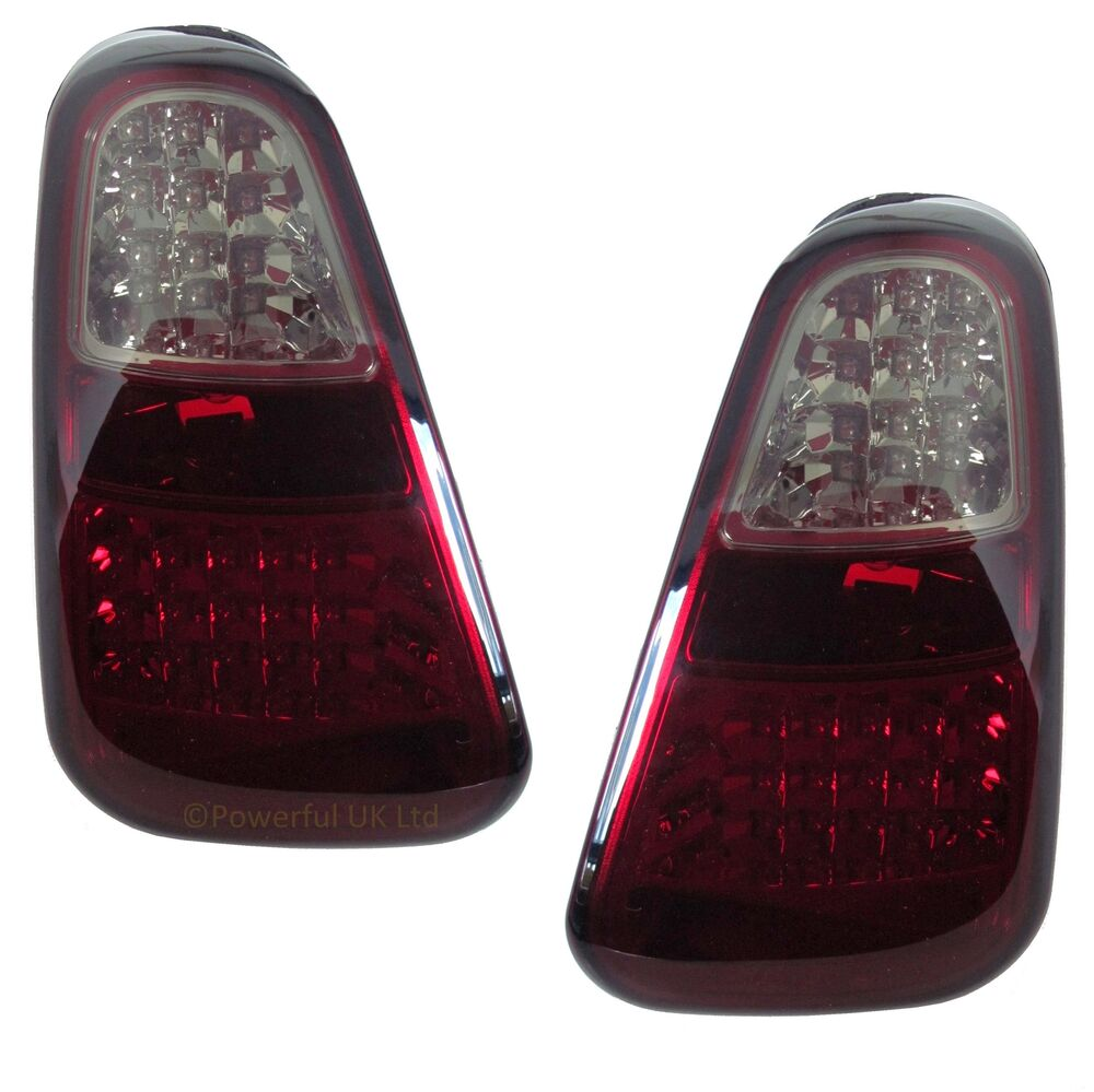 Smoked Tinted Led Rear Lights For Bmw Mini One Amp Cooper S