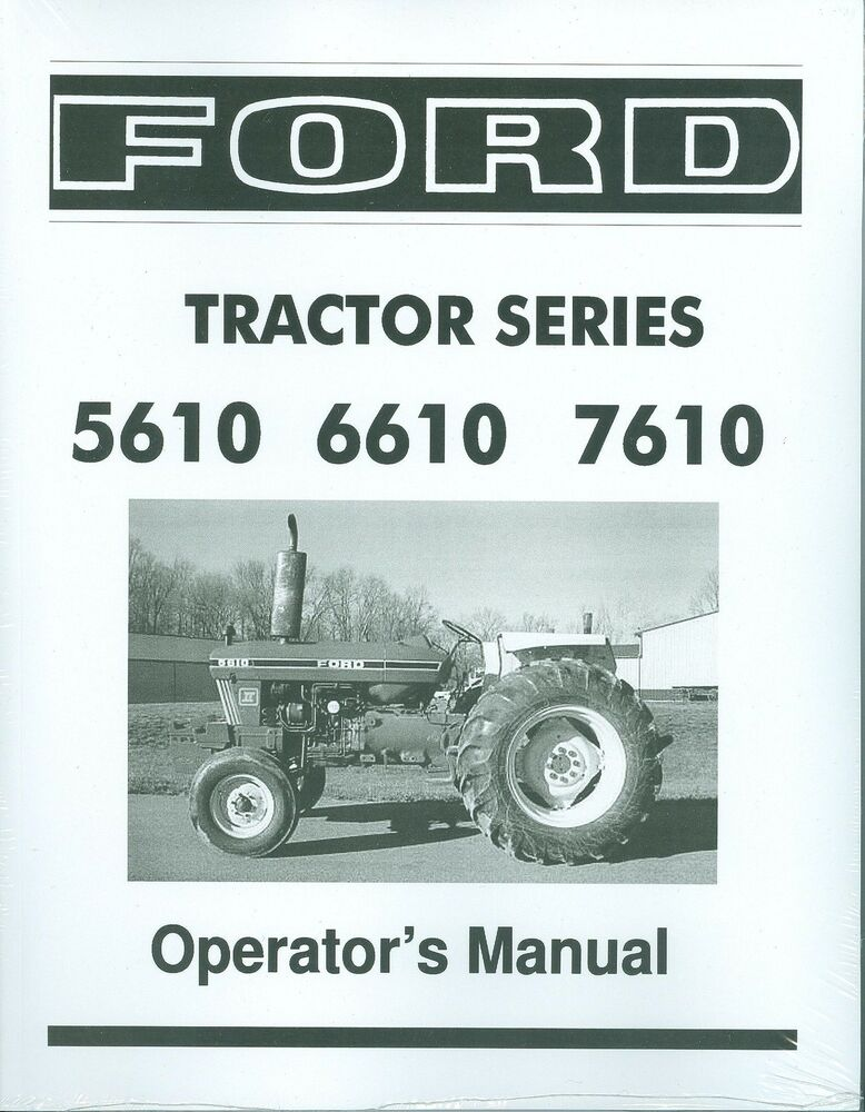 ford tractor owners manual series    ebay