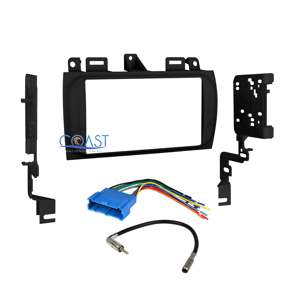 s l1000 car radio stereo double din dash kit wire harness for 1996 2005  at mifinder.co