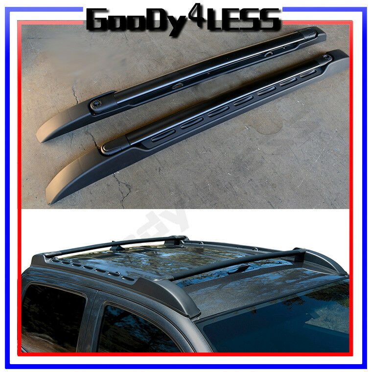 Toyota Tacoma Roof Rack Double Cab >> For 05-17 Toyota Tacoma Double Cab OE Factory Style Roof Rack Side Rails Bars | eBay