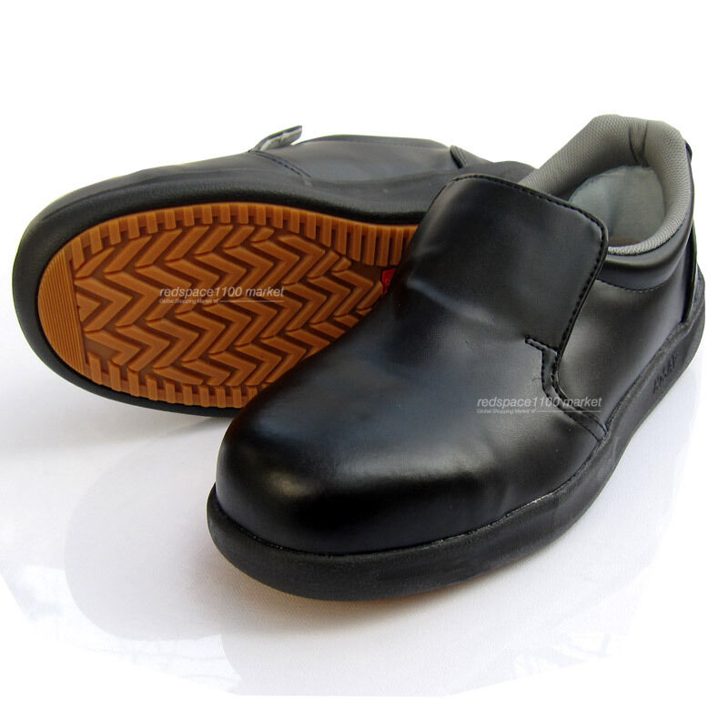 Men's Chef Shoes Safety Hard Toe Cap Work Oil Resistant