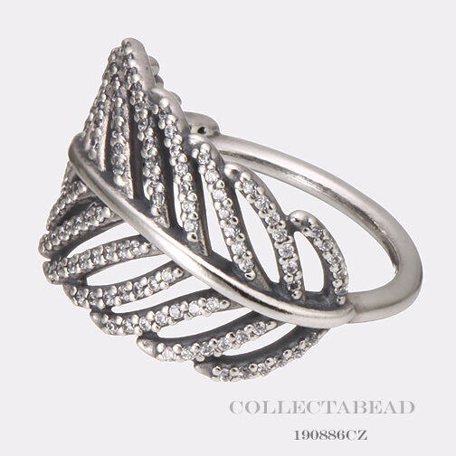 Pandora Feather Ring Size