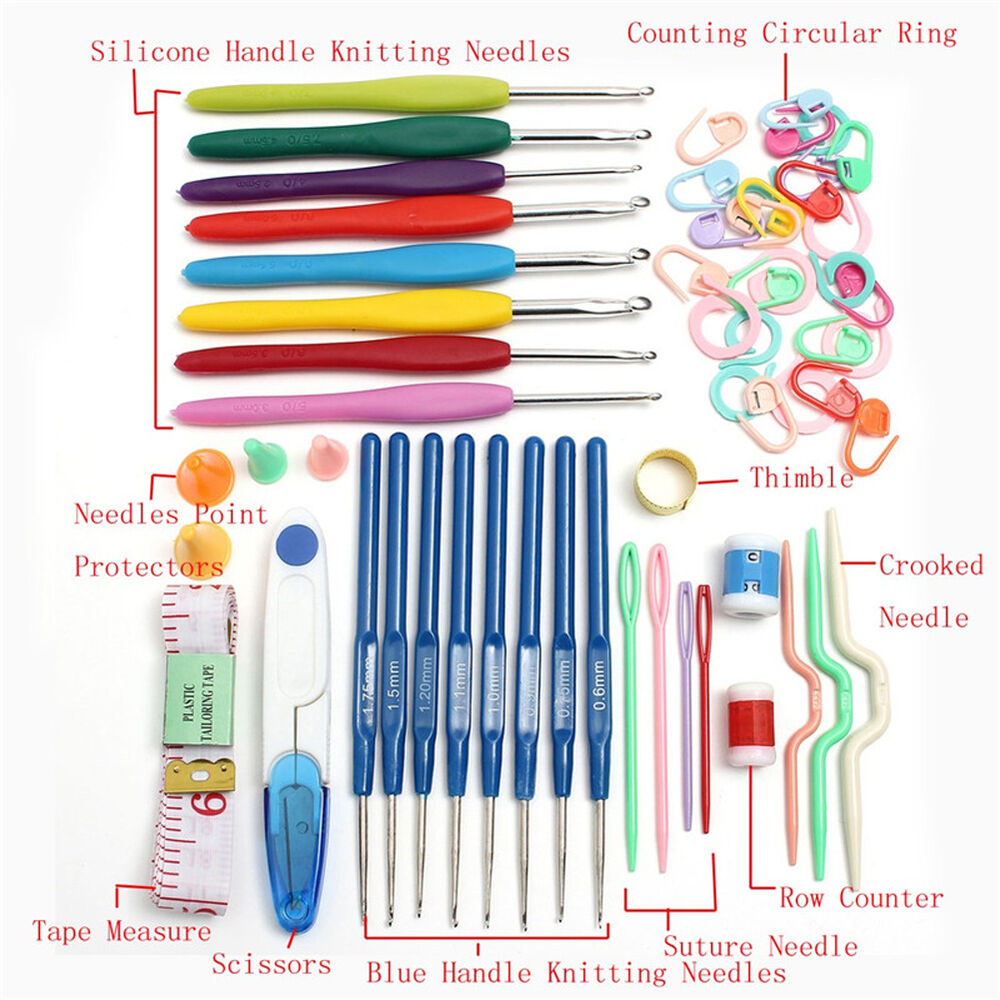 Knitting Tools And Accessories : Knitting tools crochet needle hook accessories supplies