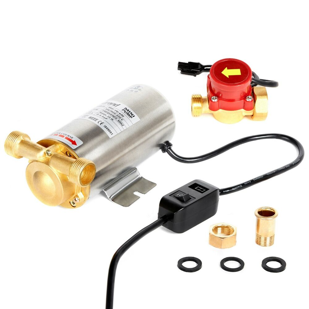 Nordstrand 90w Water Pressure Booster Pump Shower Home