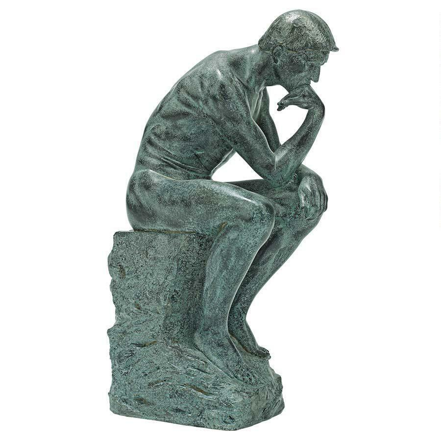 The Thinker Statue Rodin Heroic Labor Sculpture | eBay