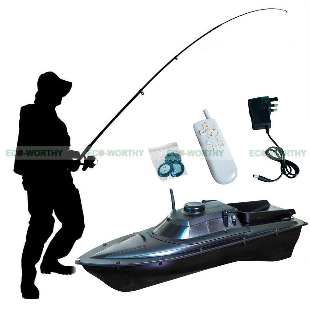 Jabo 1al 300m 10a fishing tackle bait boat remote control for Fishing tackle and bait