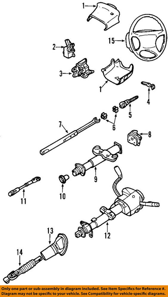 Gm Oem Steering Column