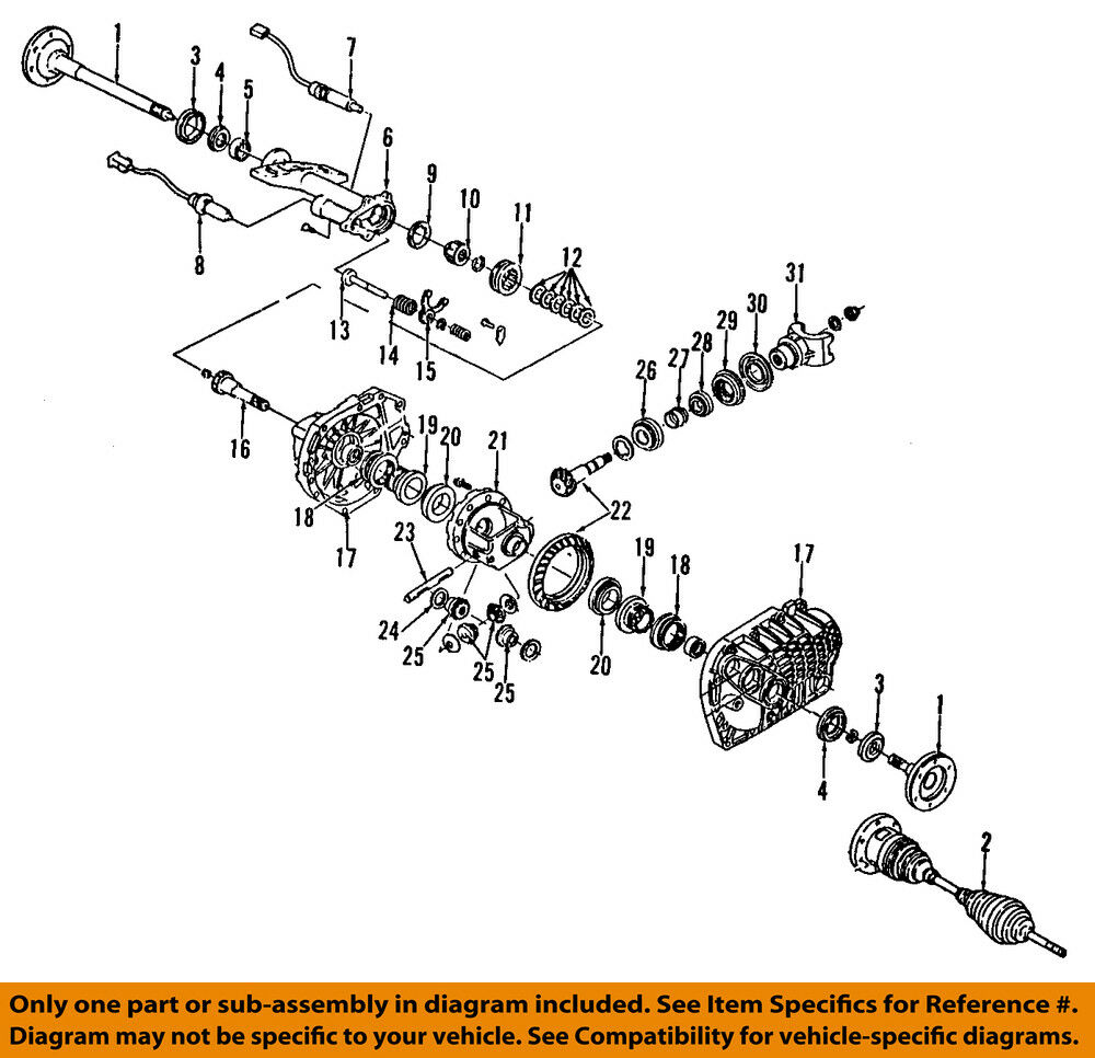 Gm Oem Front Axle Sleeve 12479006 Ebay 2000 Plymouth Breeze Engine Diagram