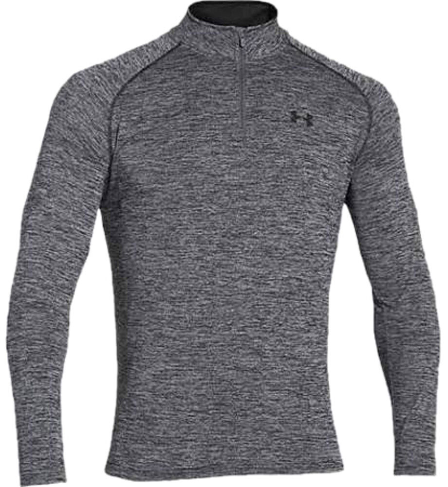 Under Armour Men 39 S Tech 1 4 Zip Shirt Top Ebay