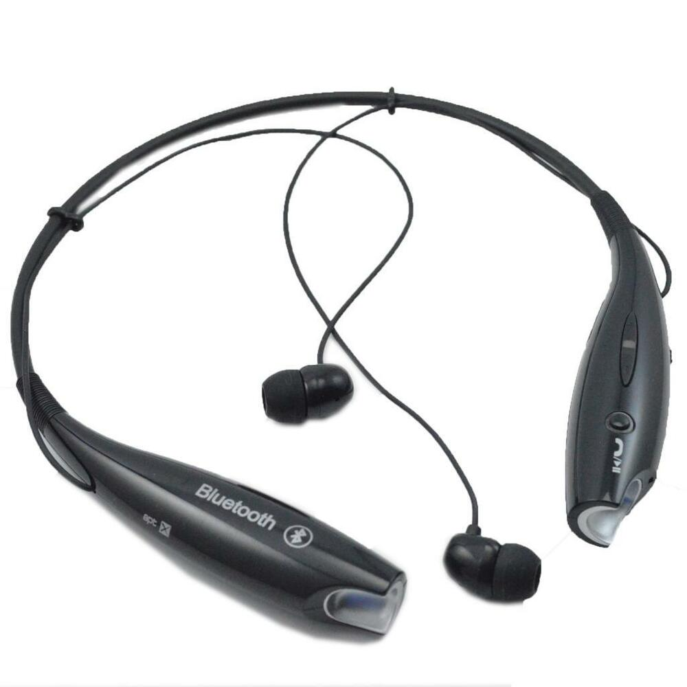 sports bluetooth stereo headset earpiece for samsung galaxy mobile cell phone 803218914509 ebay. Black Bedroom Furniture Sets. Home Design Ideas