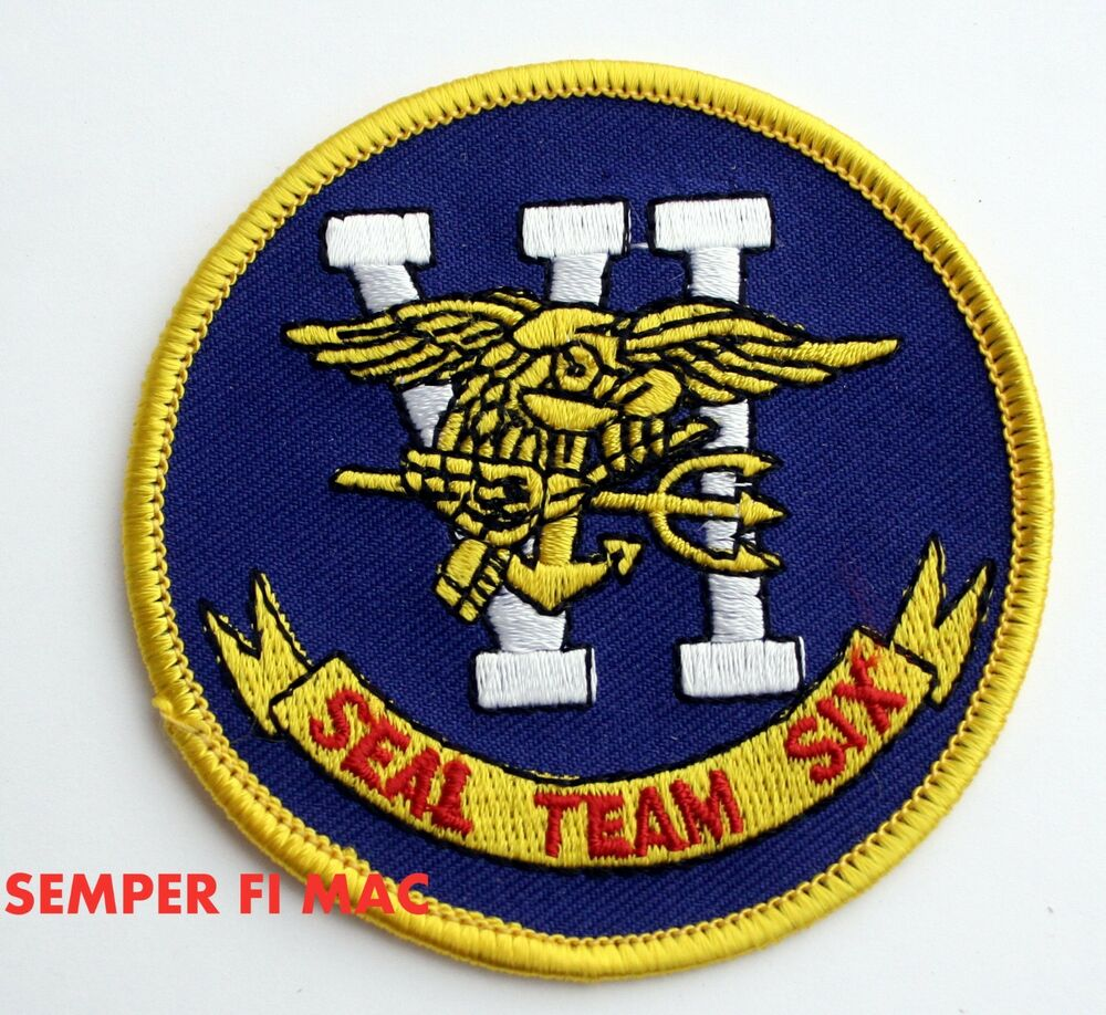 Details about seal team six 6 logo vest patch us navy veteran gift quilt bin laden geronimo