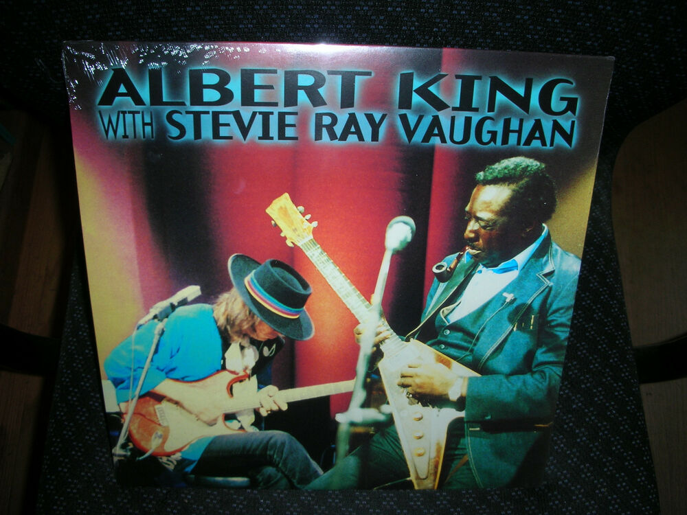albert king with stevie ray vaughan in session brand new record lp vinyl ebay. Black Bedroom Furniture Sets. Home Design Ideas