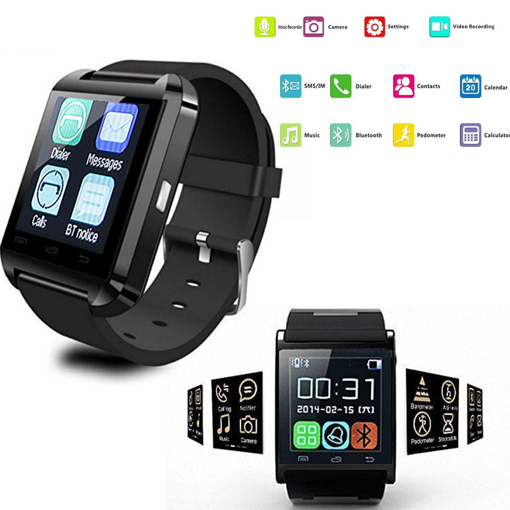 Bluetooth Bracelet Smart Wrist Watch Phone for Android ...