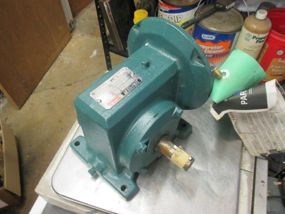 Reliance electric master xl gear reducer size 140wg16a for Master electric gear motor