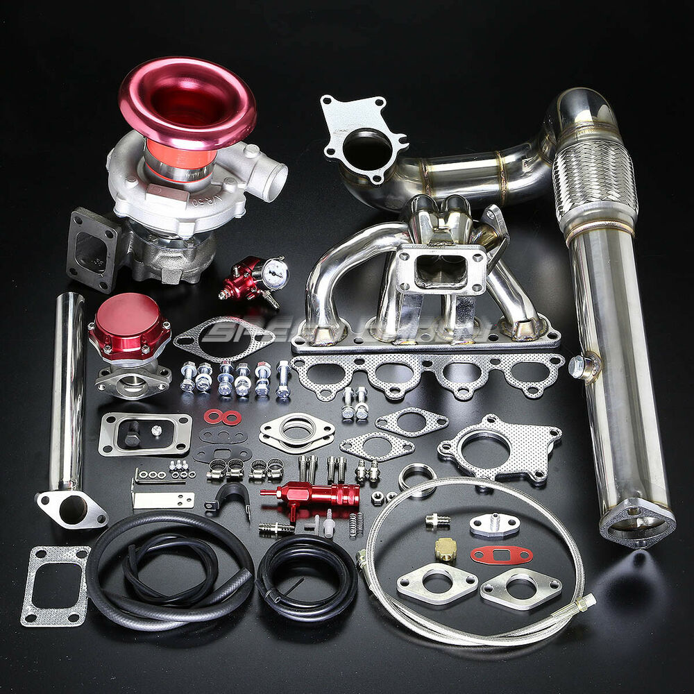 Turbo Kit Ge8: D-SERIES D15 D16 T04E STAGE II TURBO CHARGER MANIFOLD BOLT