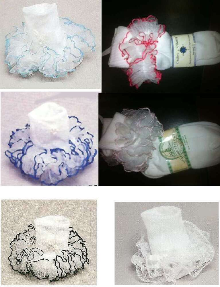 New Superful Tutu Lace Frilly Super Full Pageant Socks Ebay