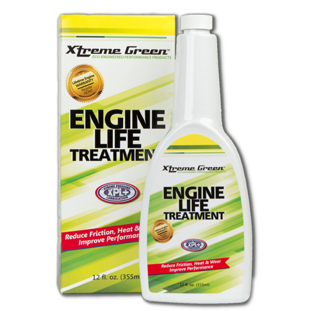 Xtreme Green Engine Life Treatment Turns Motor Oil Into