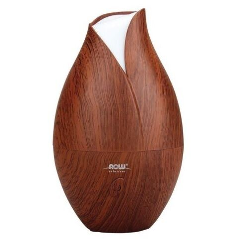 Now Foods Ultrasonic Wood Grain Essential Oil Diffuser