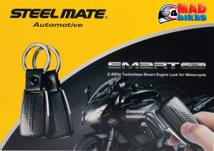 steelmate smart key motorbike quad atv engine locking immobiliser system ebay