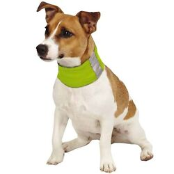 Insect Shield Neck Gaiter For Medium Dogs ''Green''  ~ NEW