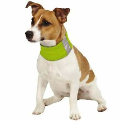 Insect Shield Neck Gaiter For Large Dogs ''Green''  ~ NEW