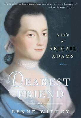 a review of the life of abigail adams Abigail adams: abigail adams, american first lady (1797-1801), the wife of john adams, second president of the united states, and mother of john quincy adams, sixth president of the united states she was a prolific letter writer whose correspondence gives an intimate and vivid portrayal of life in the young republic.