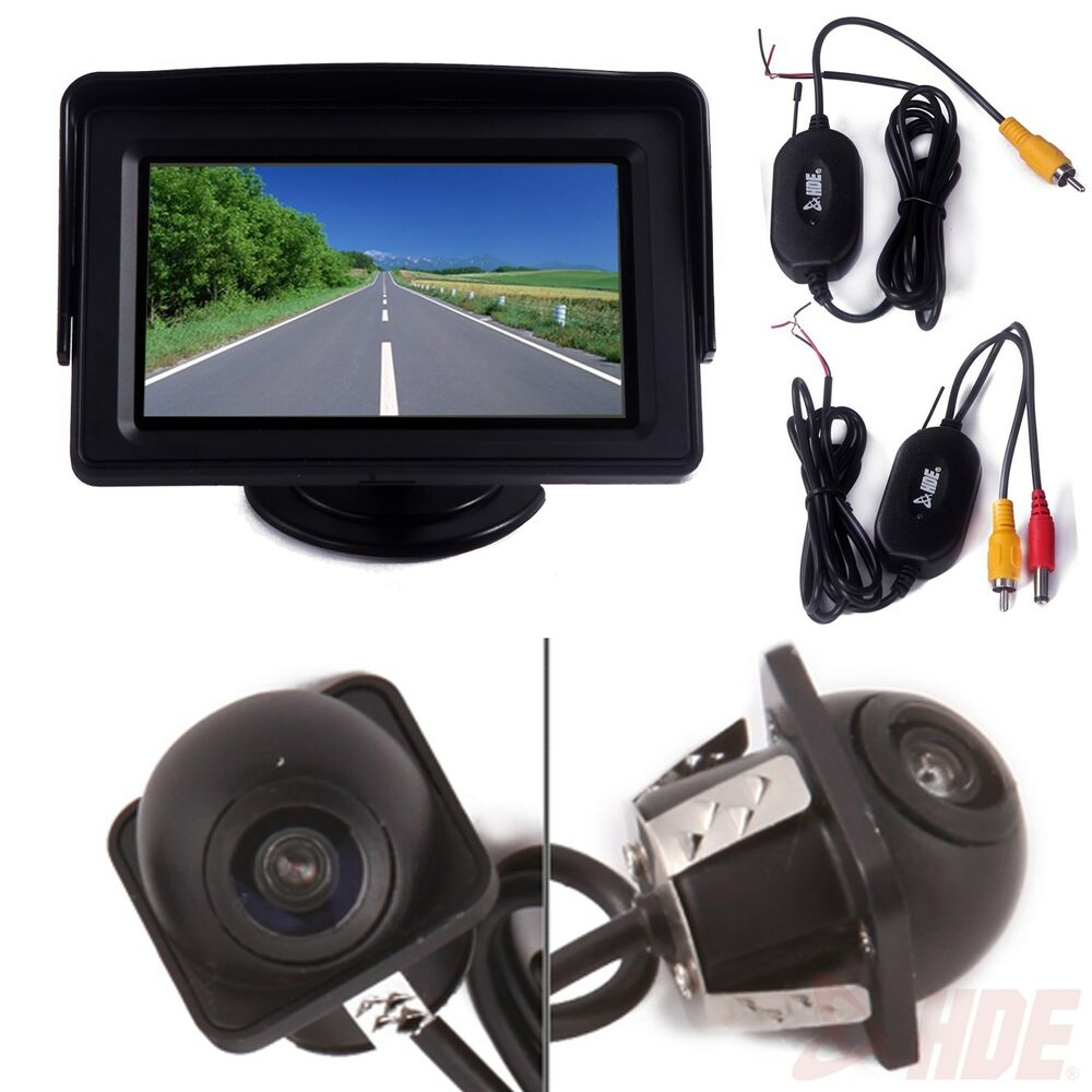 Wireless Reverse Parking System Blind Spot Vehicle Backup
