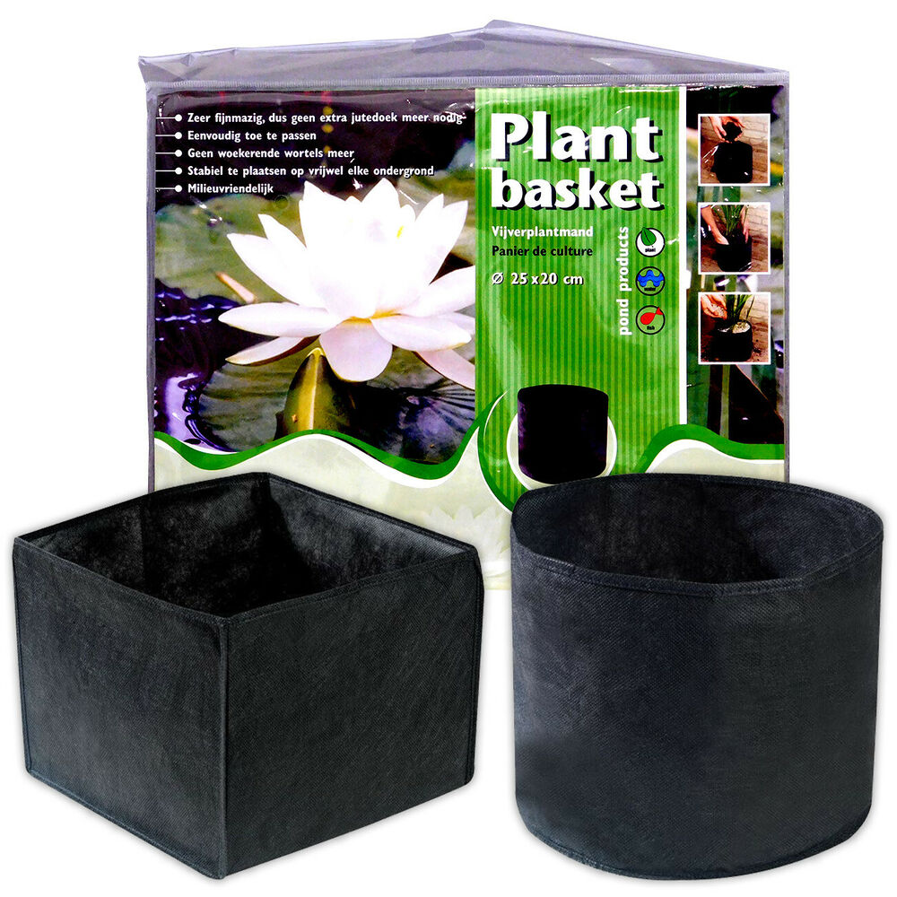 Velda Woven Flexible Plant Basket Round Square Garden Pond Water Yamitsu 4 Way Switch Box Feature Fish Ebay