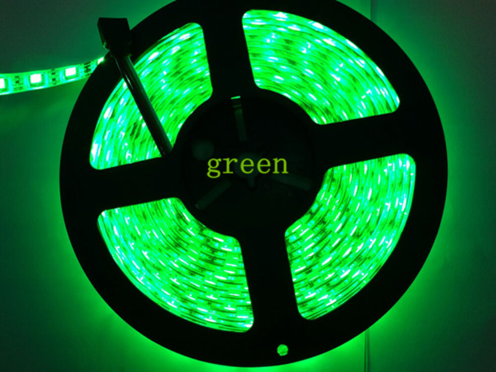 Green Boat Accent Light Waterproof 5050 300 Smd Led