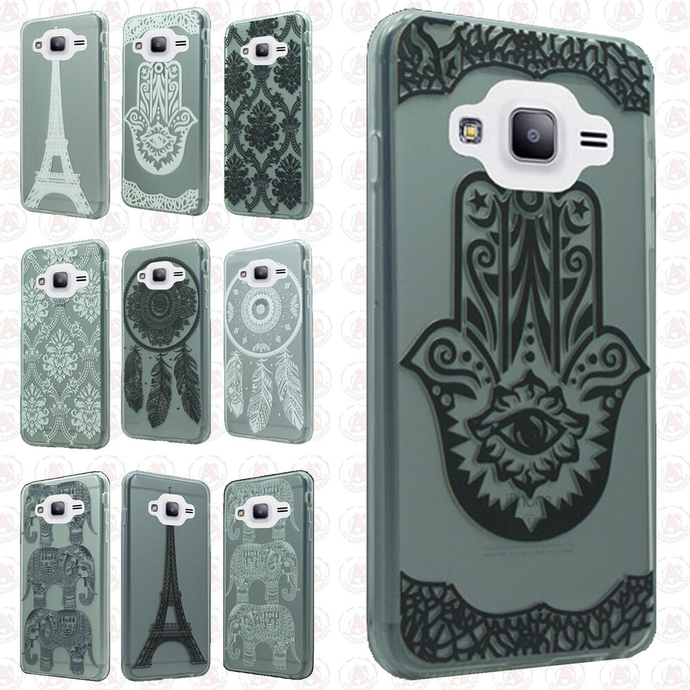 For samsung galaxy amp prime etched 3d tpu gel hard skin for 3d decoration for phone cases