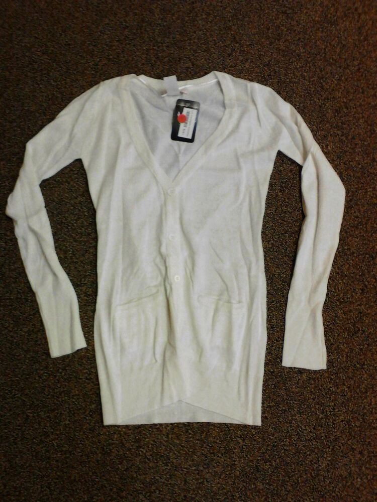 Womens White Sweater