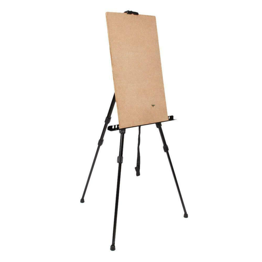 Folding Tripod Display Easel Stand Drawing Board Poster