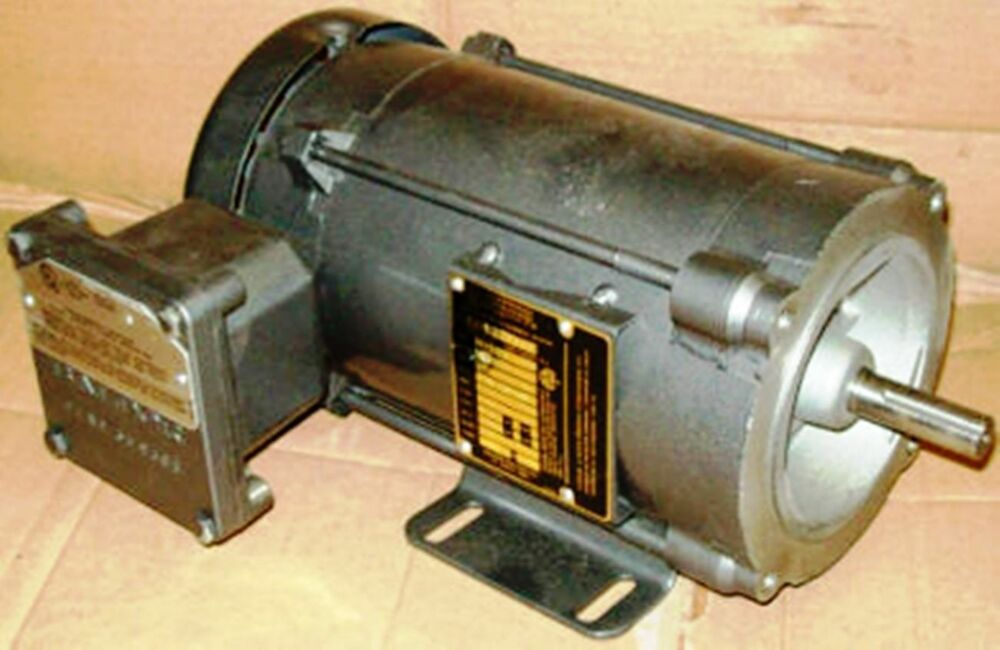 Baldor 1 2 hp 1725 rpm xpfc 56c 230 460 electric motor ebay for 1 2 hp ac motor