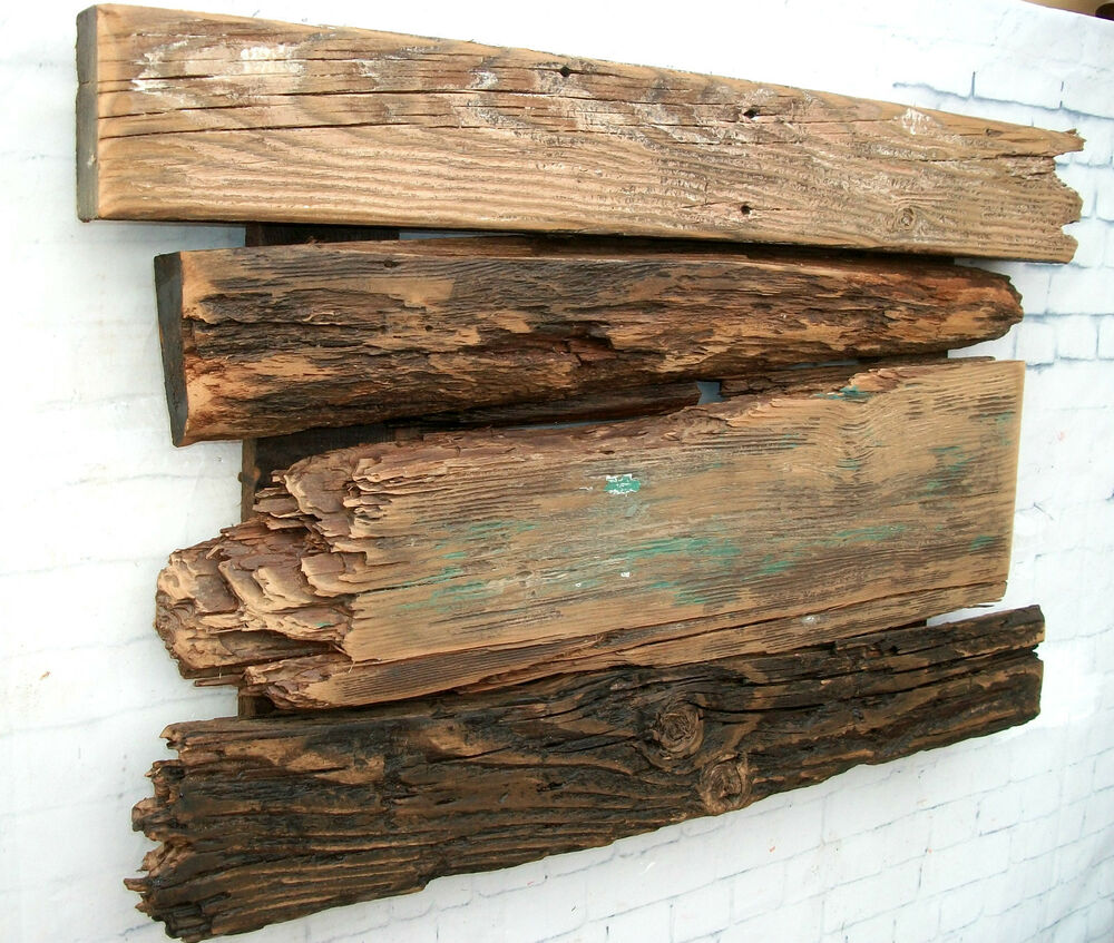 Barnwood Wall Art Rustic Decor Reclaimed Wood Sculpture Ebay