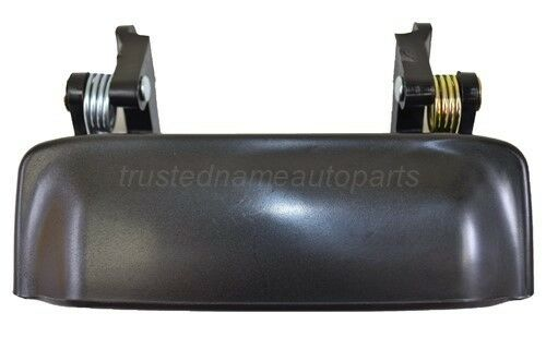 Outside Exterior Outer Door Handle Smooth Black For Ford Explorer Sport Trac Ebay