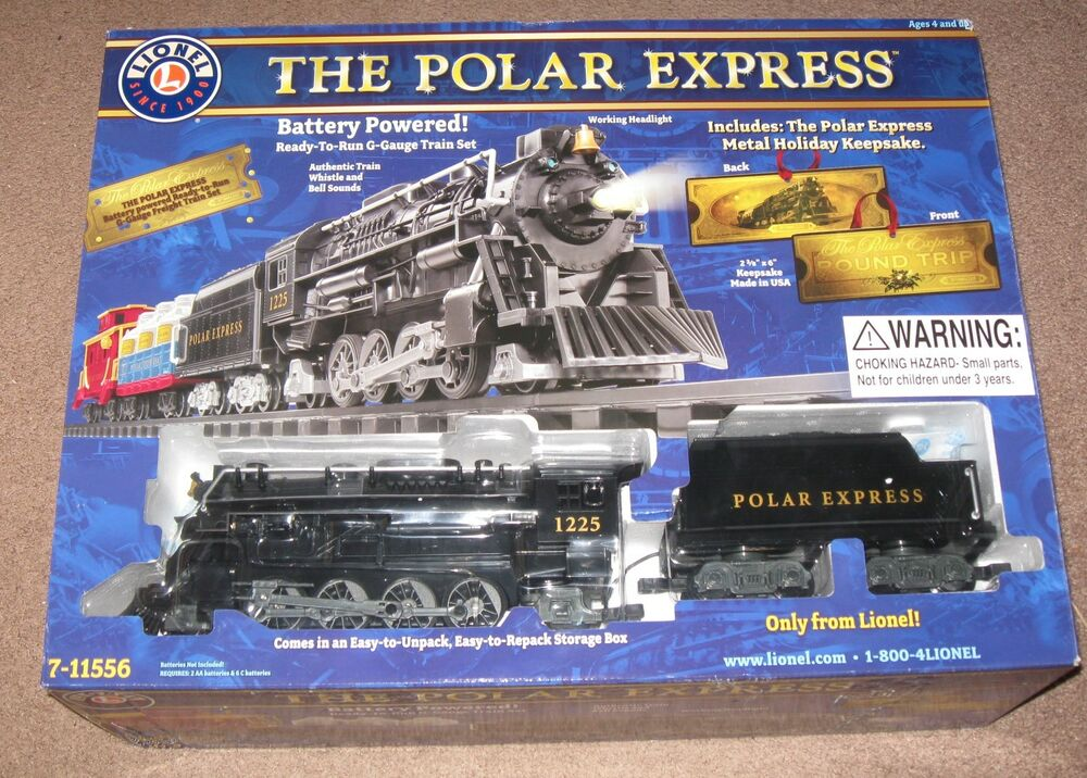 Lionel 7 11485 the polar express g gauge freight set ebay for What is the best polar express train ride