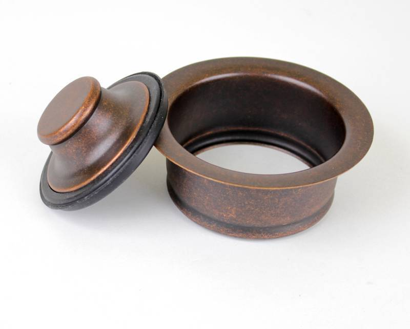3 5 garbage disposal flange stopper kit for copper - Amazon kitchen sink stopper ...
