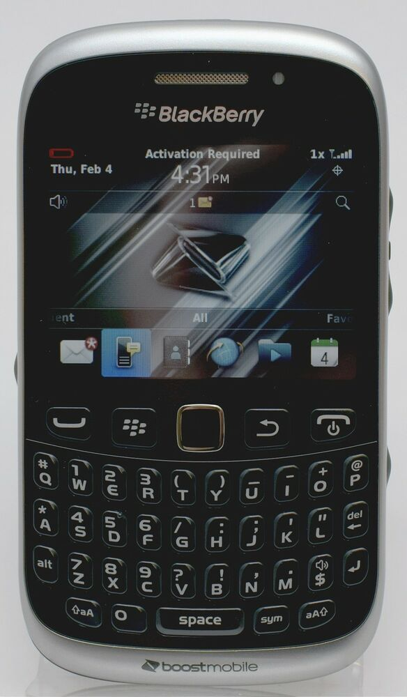 NEW Blackberry 9310 Curve BLACK Smart Phone for Boost ...