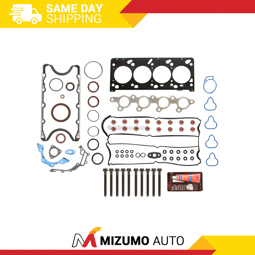 2013 Mazda Mazda2 Head Gasket: Full Gasket Set Head Bolts Fit 00-04 Ford Focus Mazda 2.0