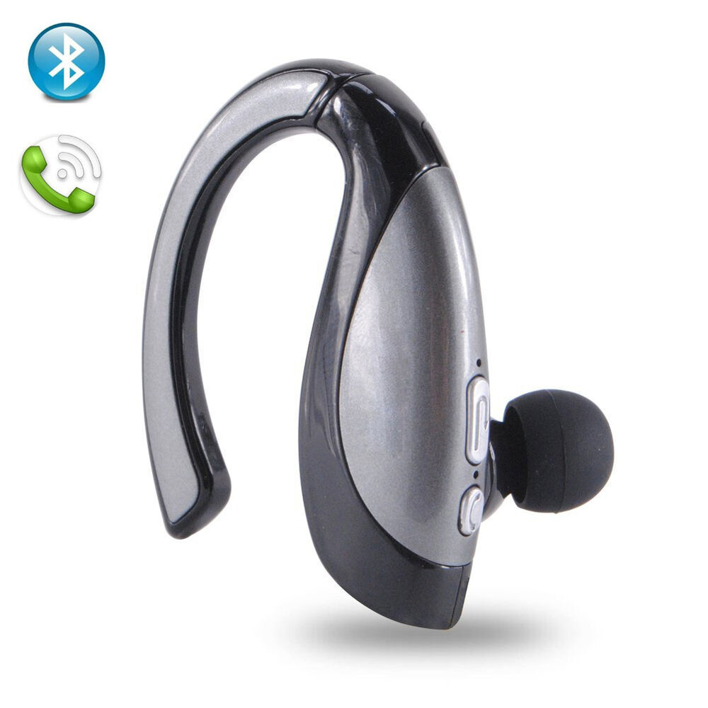 wireless bluetooth headset with clear sound handsfree for ios android smartphone ebay. Black Bedroom Furniture Sets. Home Design Ideas