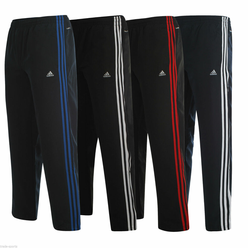 Adidas essentials climalite track pants bottoms joggers