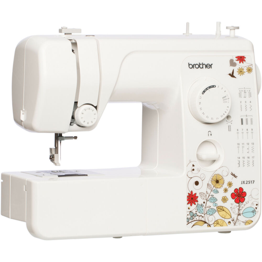 Brother JX2517 17-Stitch Sewing Machine with 38 Stitch ...