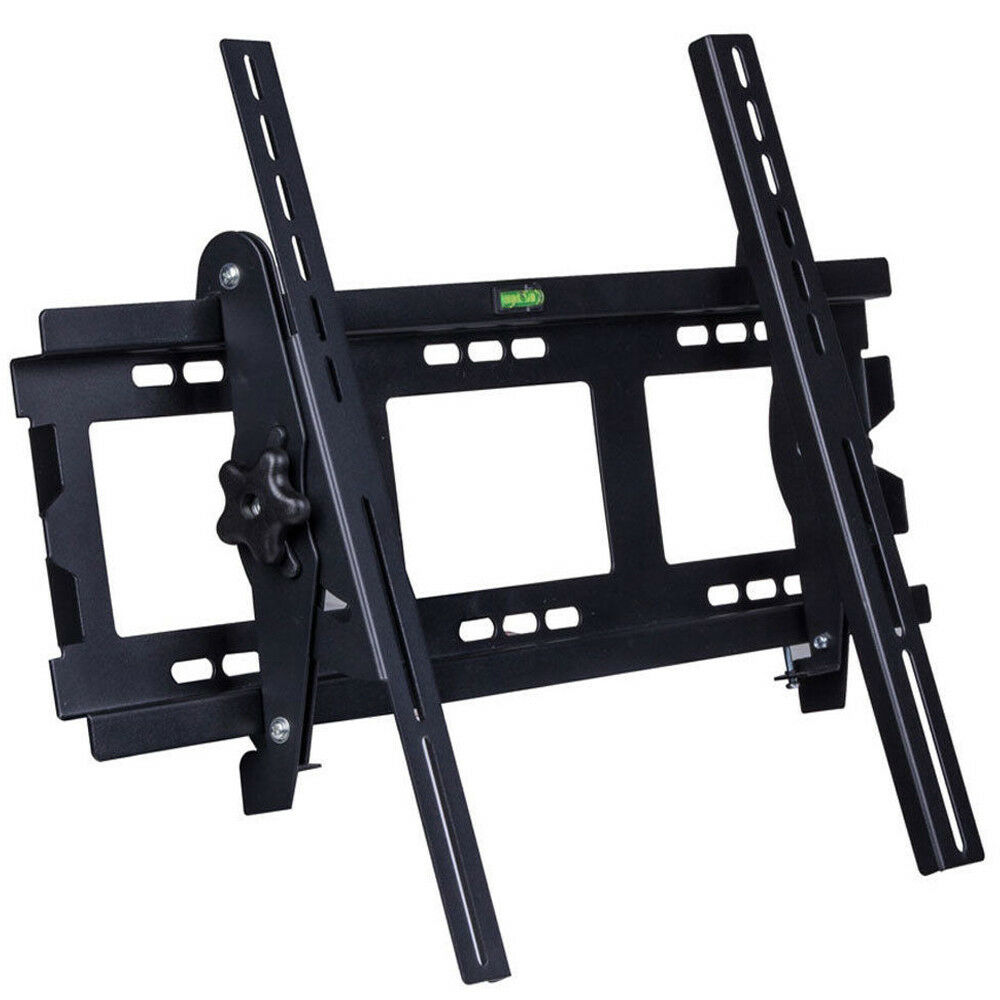 lumsing full motion tv wall mount swivel bracket 32 37 42 46 50 55 inch led lcd ebay. Black Bedroom Furniture Sets. Home Design Ideas
