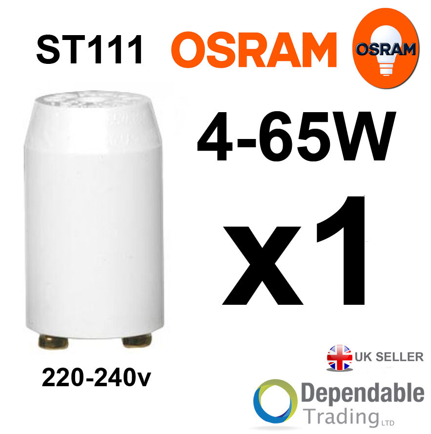 OSRAM Fluorescent Tube Starter Switch 4-65w ST111 220V