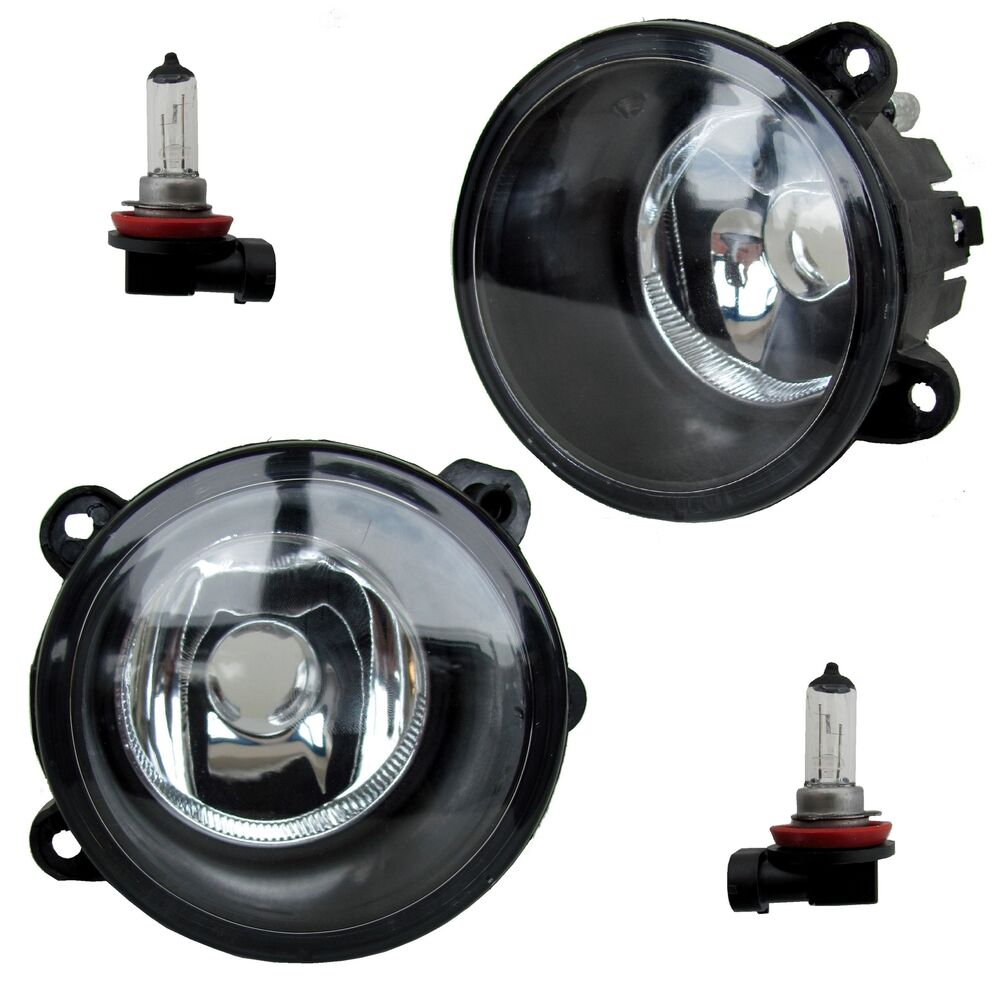 Pair Of Clear Front Indicator Lights For Land Rover: Pair Of Front Bumper Fog Lamps For Land Rover Discovery 2