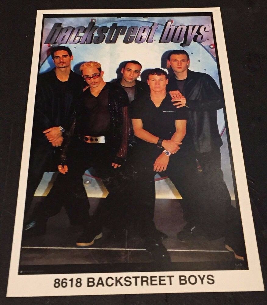 BACKSTREET BOYS #8618 Rare MINI Promotional POSTER