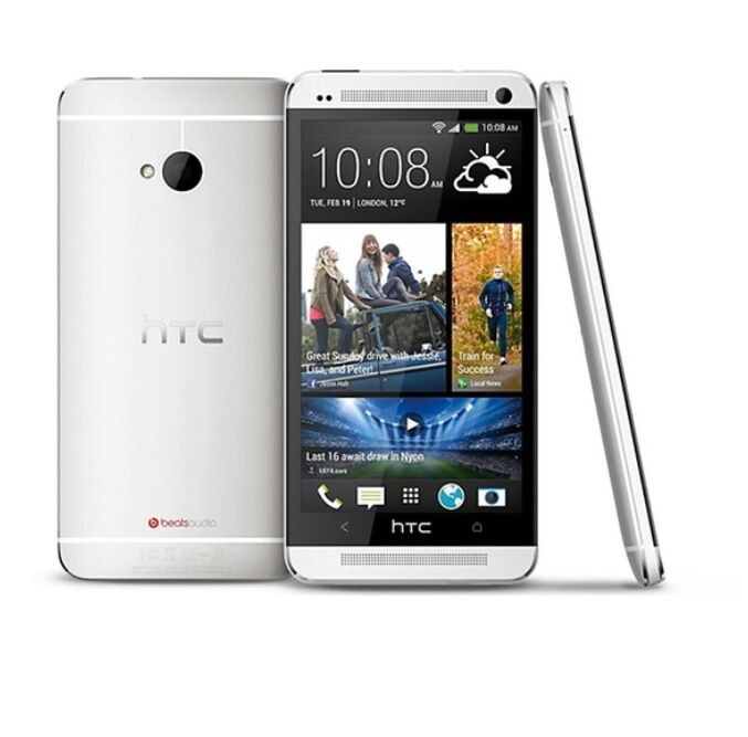 HTC One M7-Silver (Verizon)r Smartphone Cell Phone ...